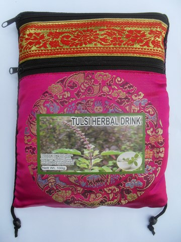 Pochette de tulsi herbal drink